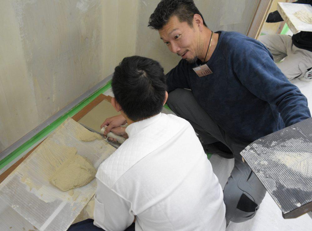 外国人技能実習生、多能工、クロス、建設業の職人育成は職人道場